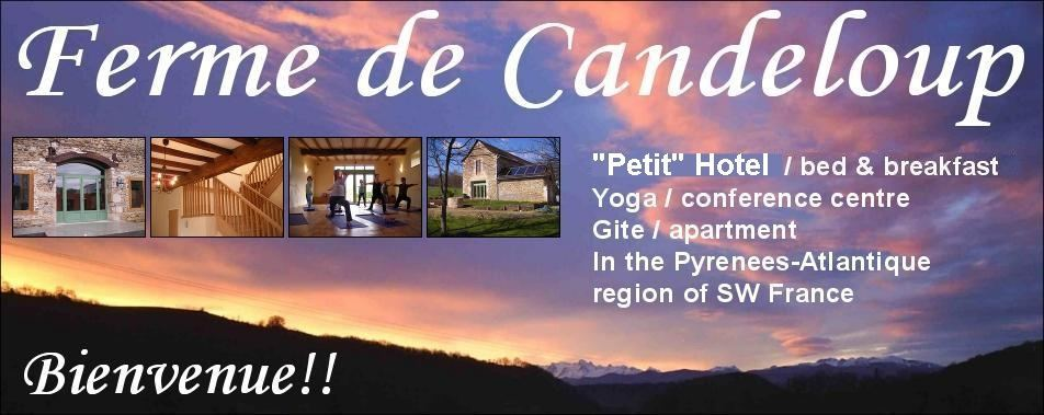 Yoga in France at Candeloup Farm